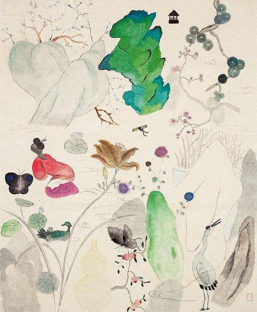 , 'Flowers in a Small Garden 小庭花,' 2015, Alisan Fine Arts