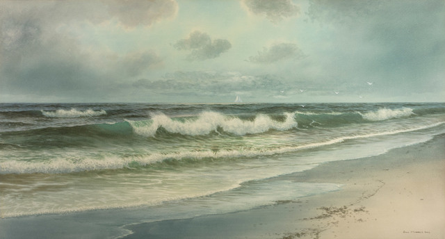 George Howell Gay, 'Surf, Long Beach, Rockport', 19th -20th Century, Vose Galleries