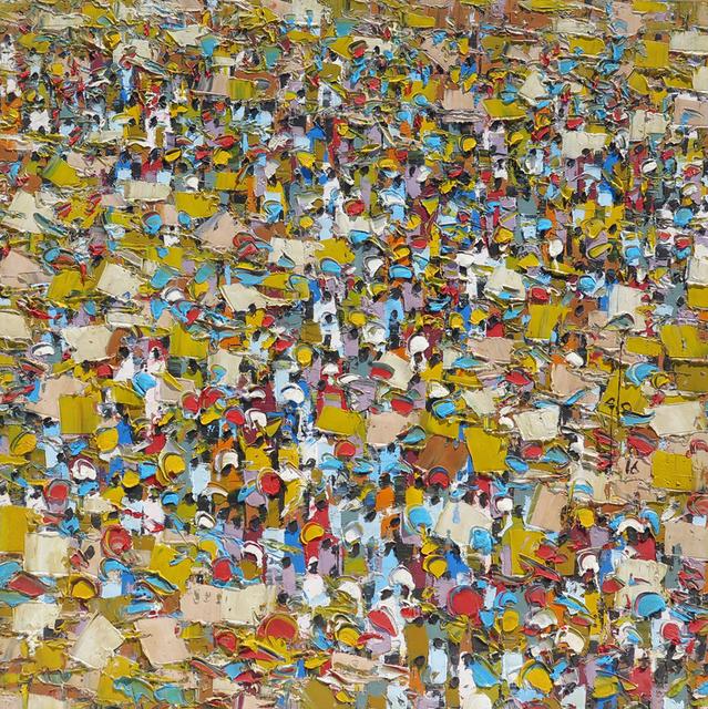 , 'Marketscape - E15/16,' 2018, Christopher Moller Gallery