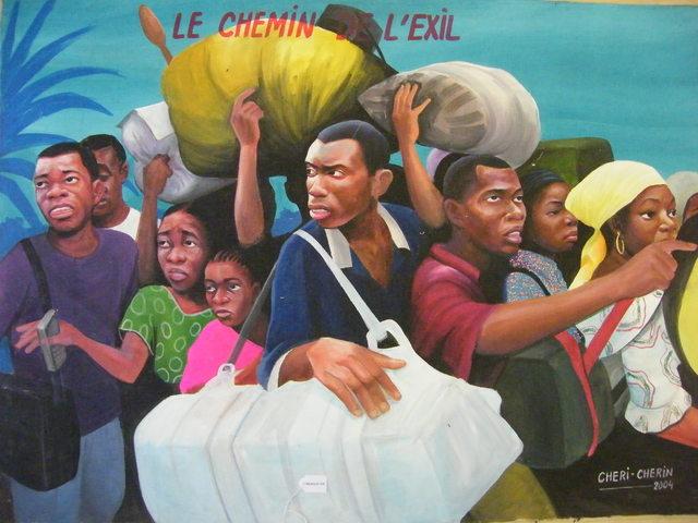 , 'Le chemin de l'exil ,' , Centre for Fine Arts (BOZAR)