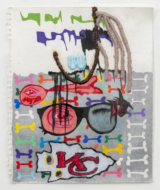 , 'Untitled,' 2015, Wentrup