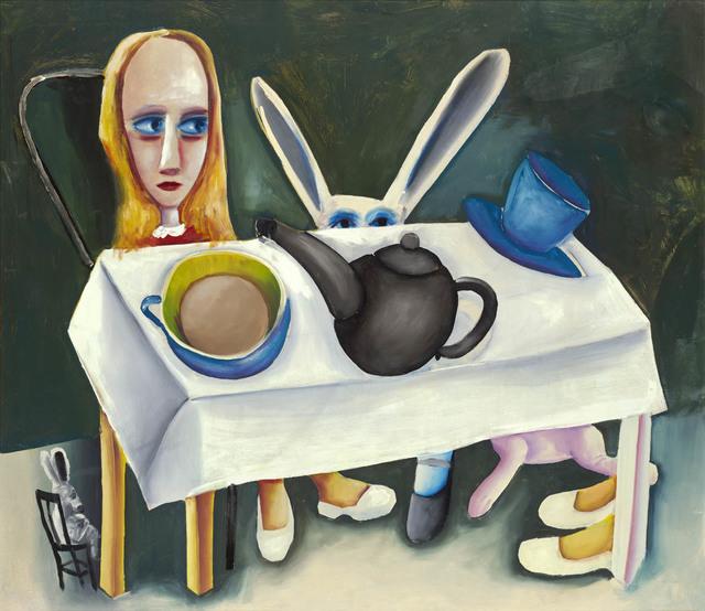 Charles Blackman, 'Feet Beneath the Table', 1956, Angela Tandori Fine Art