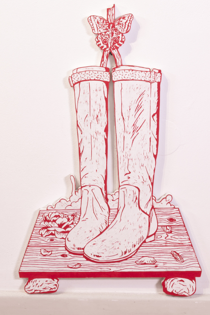 , 'Boots and Butterfly,' 2014, Micheko Galerie