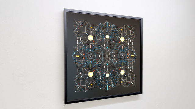 Leonardo Ulian, 'Technological Mandala 101', 2019, The Flat - Massimo Carasi