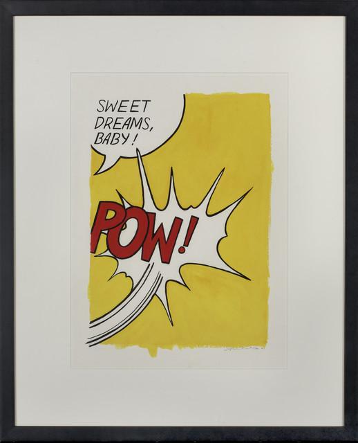 , 'POW (After Roy Lichtenstein),' 2002, Artsnap