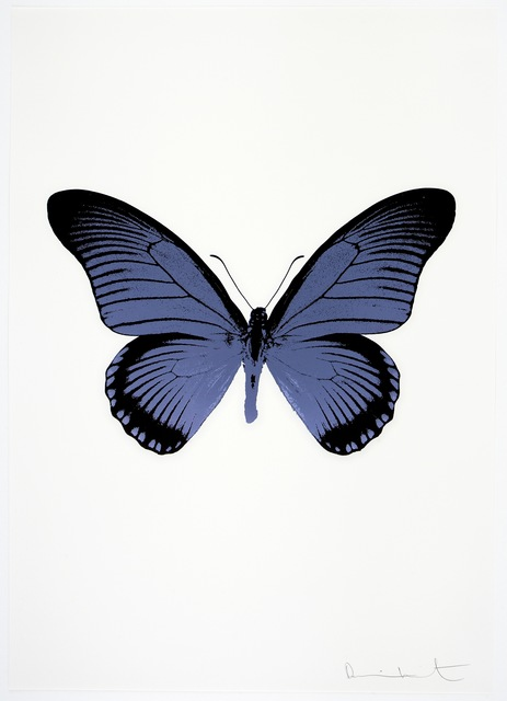 , 'The Souls IV - Cornflower Blue/Raven Black,' 2010, Paul Stolper Gallery