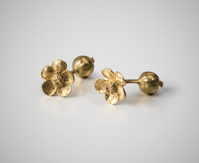 , 'Flower cufflinks,' 2012, Louisa Guinness Gallery