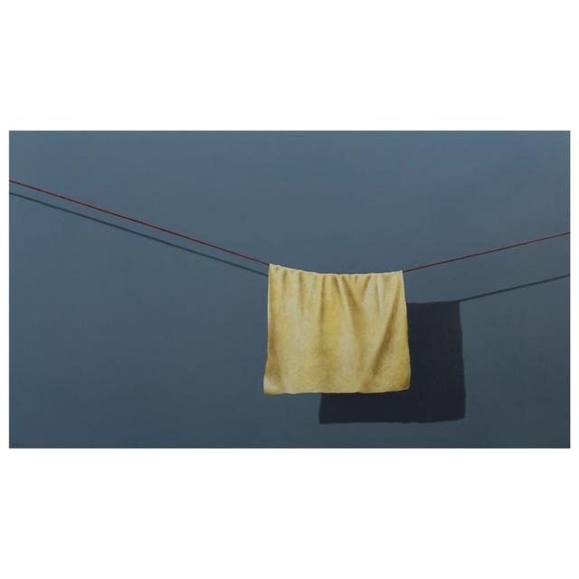 , 'Little yellow cloth,' 2017, Galerie Terbeek