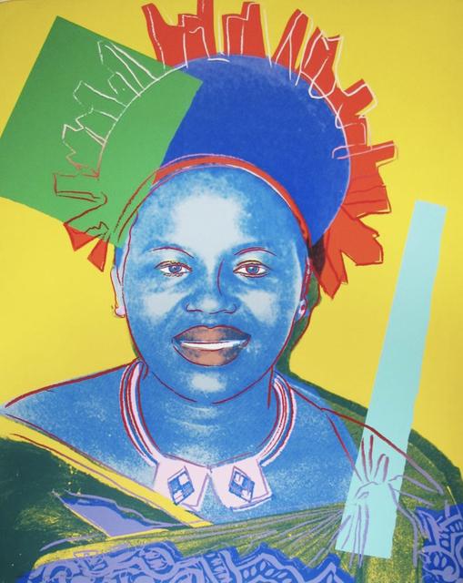 Andy Warhol, 'Queen Ntombi Twala of Swaziland', 1985, Okker Art Gallery