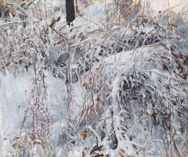 , 'Chickadee,' , Jonathan Cooper, Park Walk Gallery