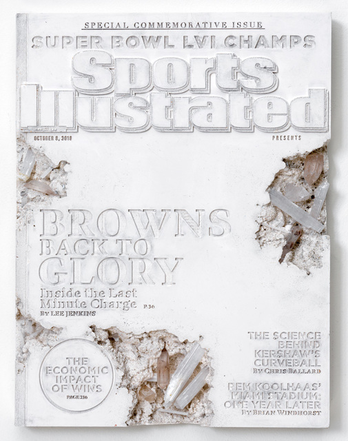 Daniel Arsham, 'Quartz Eroded Sports Illustrated', 2019, Galerie Ron Mandos