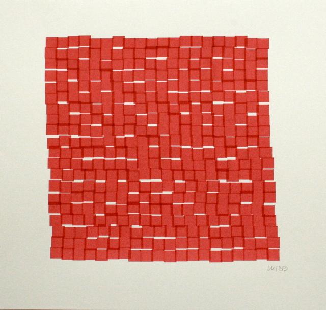 , 'Interstices horizontales,' 1989, Galerie Zlotowski