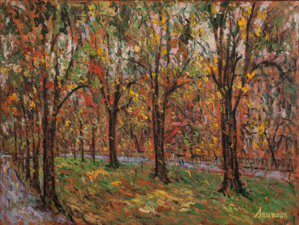 , 'Commonwealth Avenue, Fall,' 2018, Galerie d'Orsay