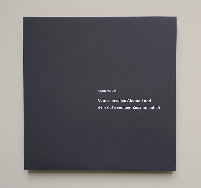 , 'Vom sinnvollen Abstand und dem notwendigen Zusammenhalt,' 2014, Micheko Galerie