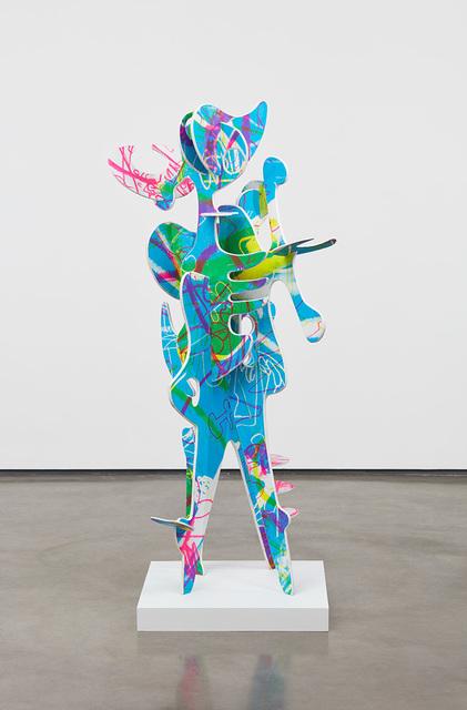 Aaron Curry, 'Blue Buzz', 2019, David Kordansky Gallery