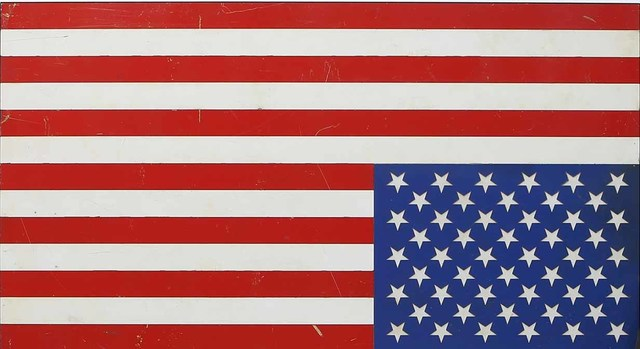 , 'Upside Down US Flag,' 2018, Caldwell Snyder Gallery