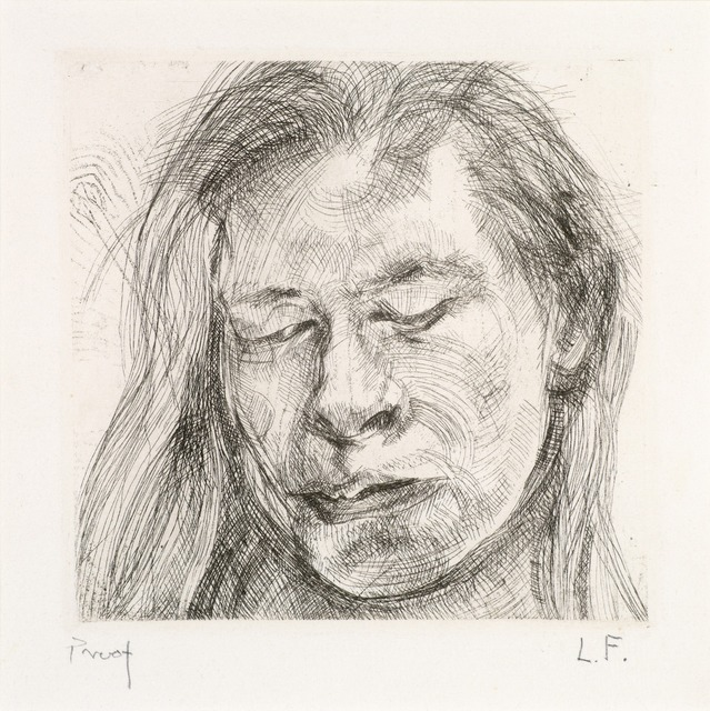 , 'Head of a Girl I,' 1982, Osborne Samuel