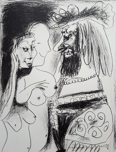 Pablo Picasso, 'Le Vieux Roi (The Old King)', 1959, Graves International Art