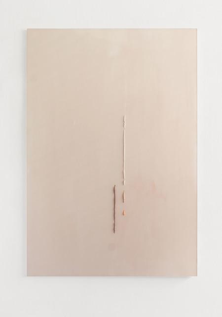 , 'Braun Weiß Rosa Orange durch Rosa,' 2017, Galerie Heike Strelow