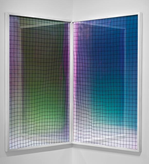 , 'Red (Pieza de esquina),' 2015, Zavaleta Lab Arte Contemporáneo