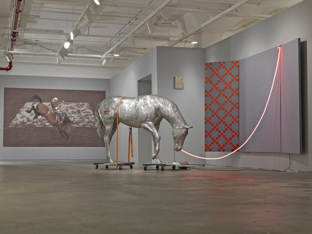 , 'Nietzsche's Horse (No Regrets for Jasper Johns),' 2016, Ethan Cohen New York