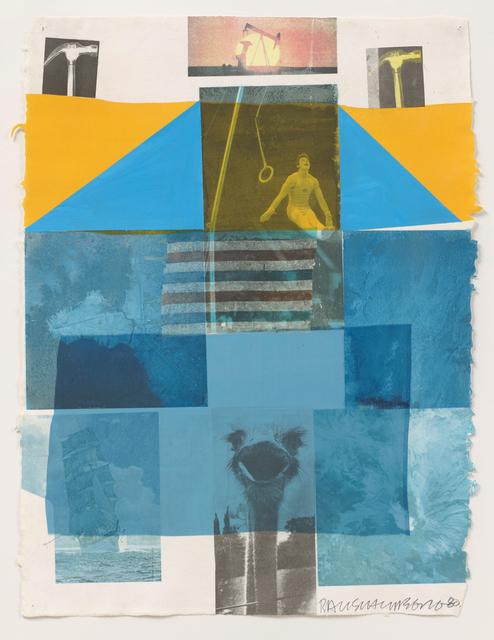 Robert Rauschenberg, 'Flue', 1980, BASTIAN