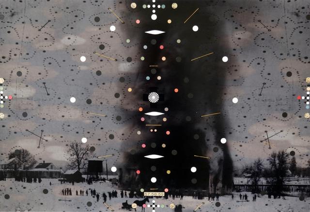 , 'Disturbance #4,' 2013-2014, Muriel Guépin Gallery