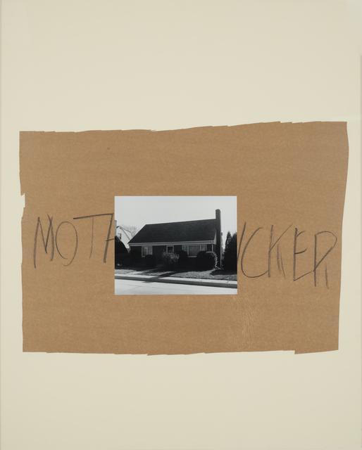 , 'Mothcker,' 1989, Casemore Kirkeby