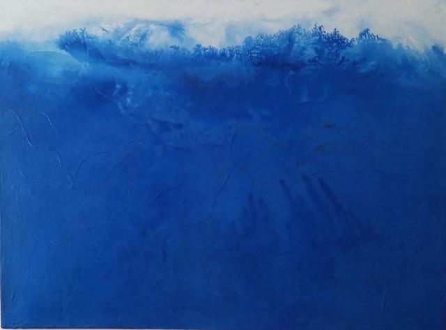 , 'Blue VIII,' 2018, Cheryl Hazan Gallery