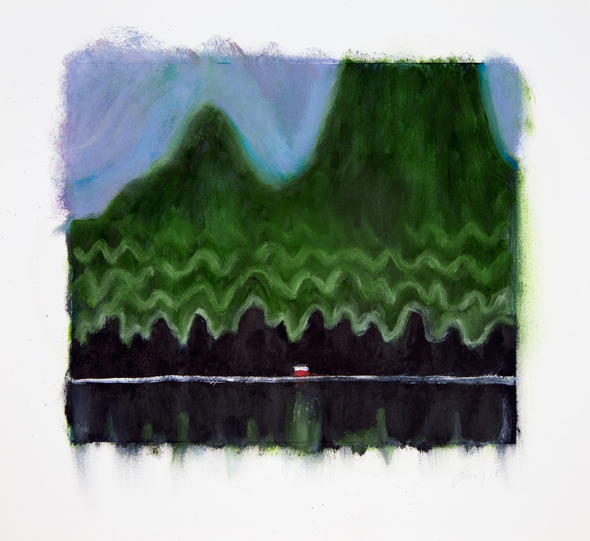 , 'There Were Mountains,' 2018, Lyndsey Ingram