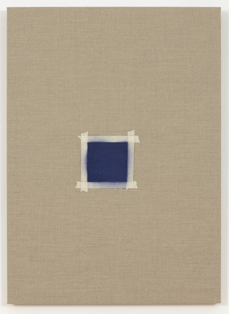 , 'One After Another, (Square with Ultramarine Blue Paint),' 2015, Peana Projects