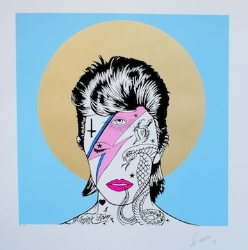 , 'David Bowie,' 2014, Jealous Gallery