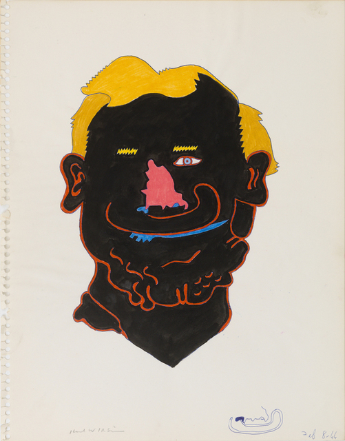 , 'Untitled (Head Study for Awning Series),' 1966, Derek Eller Gallery