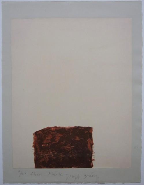 , 'Suite Schwurhand - Wandernde Kiste 4,' 1980, Galerie Thomas