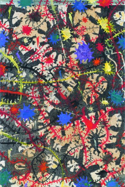 , 'Weltwegcollage Blaue Welten,' 2011, Galerie Elisabeth & Klaus Thoman