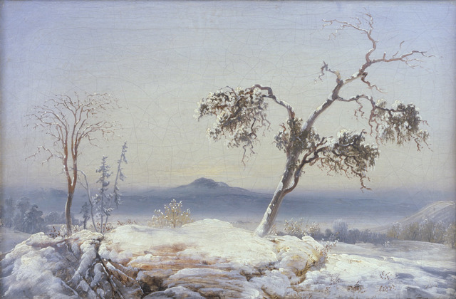 , 'Landscape from Finnmark,' about 1860, The National Gallery, London