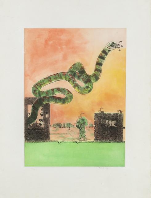 Graham Sutherland, 'Untitled', 1979, Print, Multiple, color lithograph, Martini Studio d'Arte