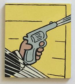 , 'Hand and Gun,' 2014, Albert Merola Gallery