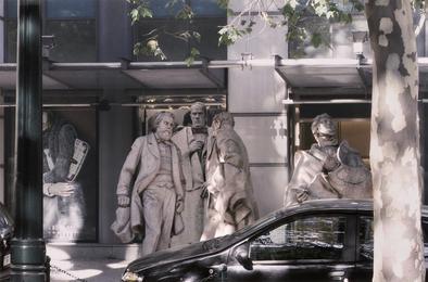 Estudos com escultura pública #3, 2010