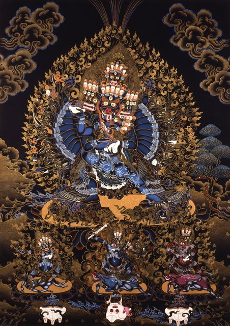 , 'Vajrabhairava (Yamantaka) yab-yum,' 2000, October Gallery