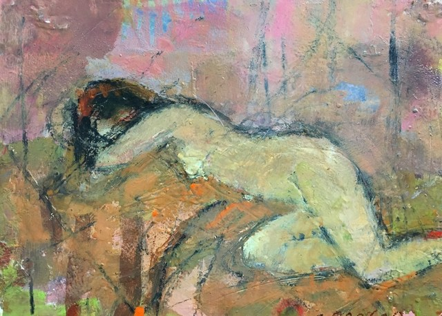 , 'Nude in Pink,' 2016, Quidley & Company