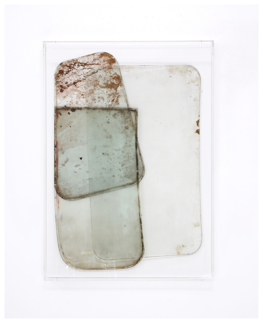 Anneke Eussen, 'Now (02)', 2021, Sculpture, Recycled antique glass mounted on wood in plexibox frame, Tatjana Pieters