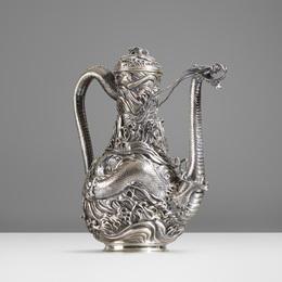 Dragon Coffee Pot