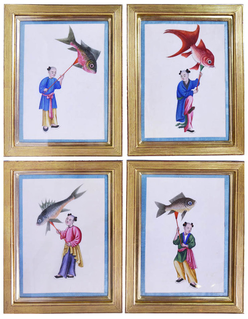 , 'A Set of Ten Kite Flyers,' [circa 1860s]., Shapero Rare Books Limited