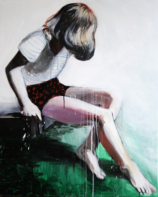 , 'Sitting girl,' ca. 2015, Galerie Sandhofer
