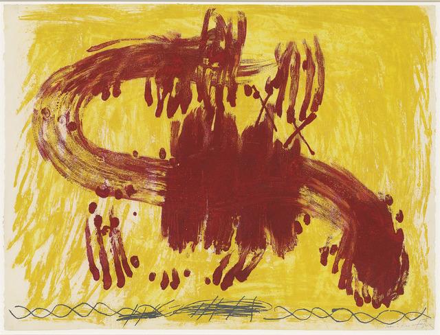 Antoni Tàpies, 'Suite Catalana', 1972, Christie's