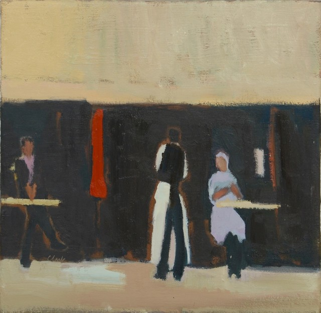 , 'Cafe Society, Paris,' 2018, The Lemond Gallery