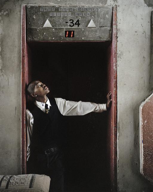 , 'Untitled 7, Ponte City, Johannesburg,' 2008, The Photographers' Gallery