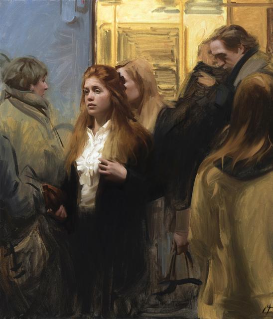 , 'In The Subway,' 2017, ARCADIA CONTEMPORARY