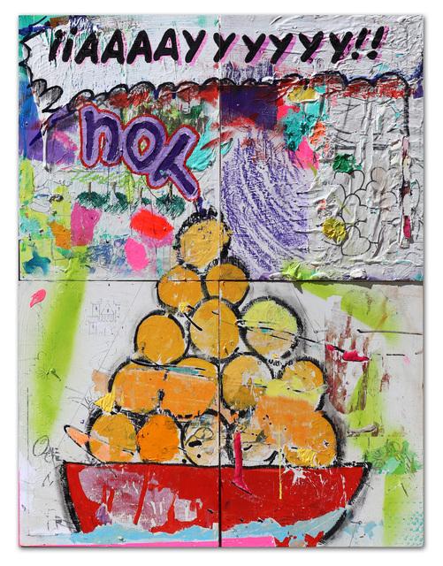 , 'Naranjas Chief,' 2019, 81 Leonard Gallery